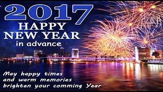 Happy New Year 2017 Greetings Whatsapp Beautiful E card New Year Wishes