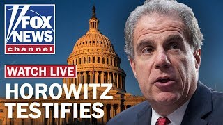 Fox News Live: DOJ Inspector General testifies on FBI's conduct in Russia probe
