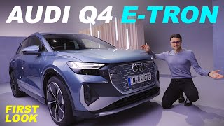 The newest Audi EV! Audi Q4 e-tron SUV vs Sportback REVEAL review