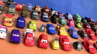 Repeat youtube video Cars 2 Checklist Complete Diecast Collection + Entire Ultimate Chase Racers Disney Pixar