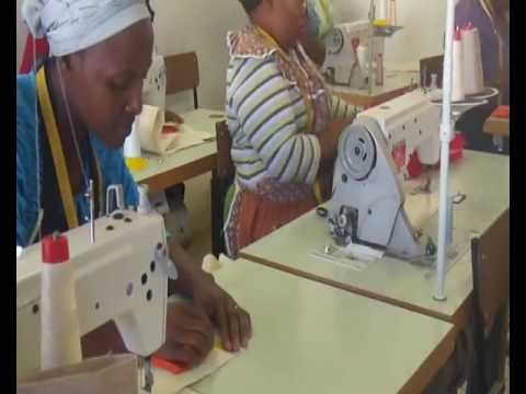 South African fair trade cooperatives making bags for China!