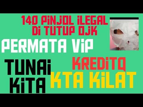 Daftar 140 Pinjol Ilegal Di Tutup Ojk Juli 2019 Youtube
