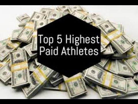 Top 5 Highest Paid Athletes