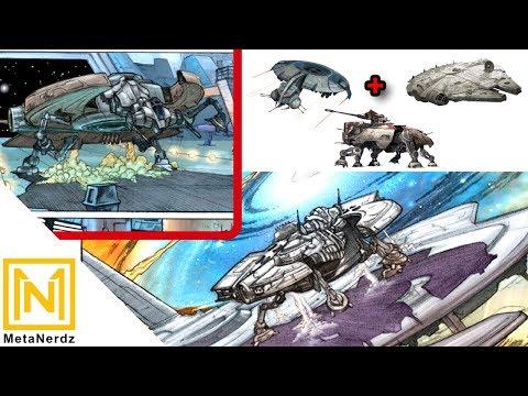 Rebel Alliance SPEC-OPS Flying-Walker - YM-2800 Limpet Ship - Star Wars Rebel Ship Explained