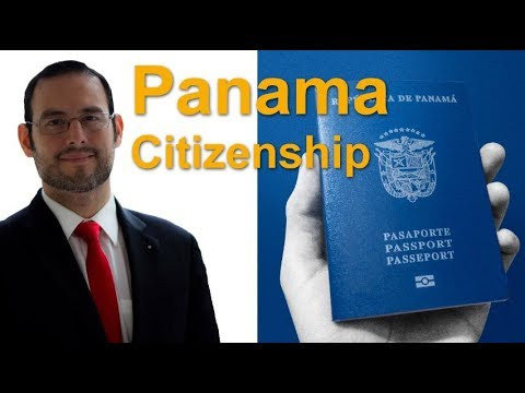 Panama Citizenship Panamanian Citizenship