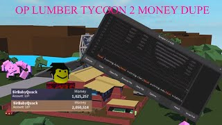 ✅OP ROBLOX LUMBER TYCOON 2 MONEY DUPE HACK✅