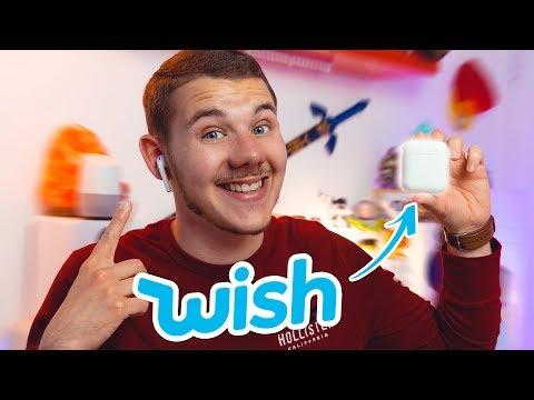 J'ai acheté des faux AirPods à 12€ sur Wish !