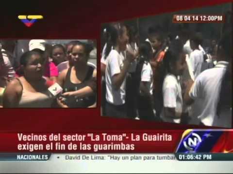 En La Guairita protestan contra las guarimbas: 1.200 niños no han podido ver clases