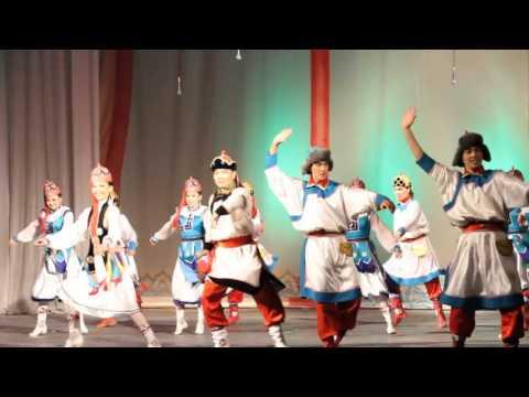Mongolian traditional dance Bii bielgee