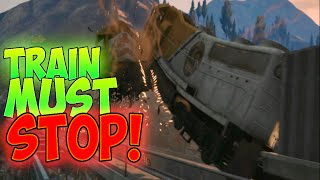 GTA 5 - ZUG WIRD GESTOPPT DURCH WINDRAD !? Die Weltsensation...