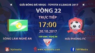 Song Lam Nghe An vs Hai Phong full match