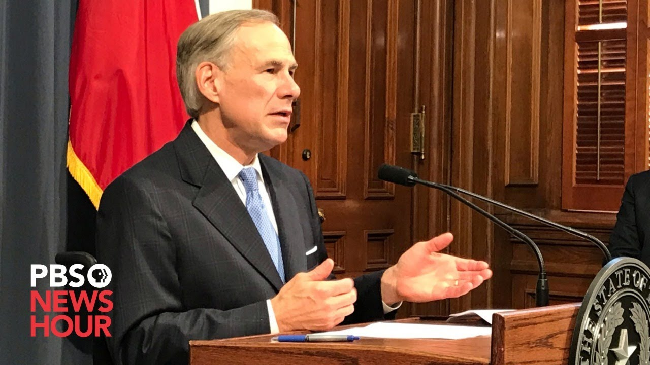 WATCH: Texas Governor Greg Abbott gives coronavirus update -- August 11, 2020