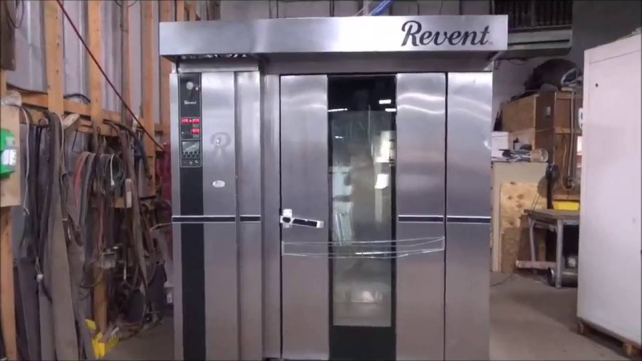 revent double rack oven model 724 g dg running youtube rh youtube com Revent 725 Revent 724 Flame Sensor