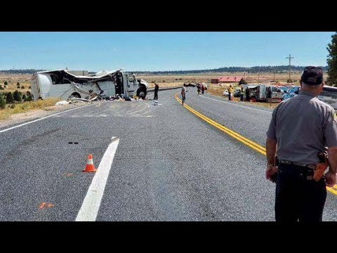 Four Chinese tourists killed in U.S. bus crash