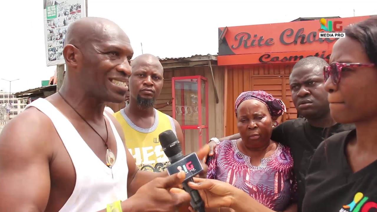Surulere Residents sing praises of Desmond Elliot