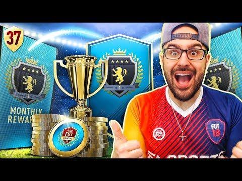 MY ELITE MONTHLY REWARDS!! - FIFA 18 Road To Fut Champions! Ultimate Team #37 RTG