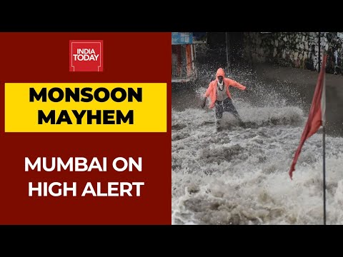 Heavy Rains Wreak Havoc In Mumbai; 5 NDRF Teams Deployed To Rescue
