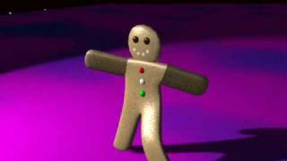 Blender - Gus The Gingerbread Man Guide - Walk It Out