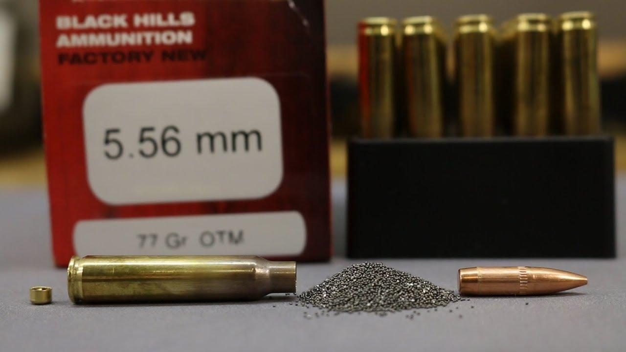 Duplicating Mk 262 Mod 1 - ep1 - Factory Black Hills 77gr OTM tests