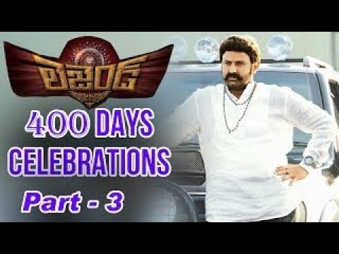 Balayyas Legend 400 Days Success Celebrations | Part 3 : TV5 News