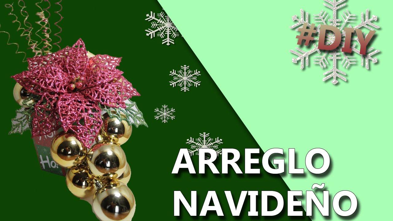Ideas para decorar esta navidad manualidades arreglos navide os decoraciones navide as youtube - Ideas decoracion navidad manualidades ...