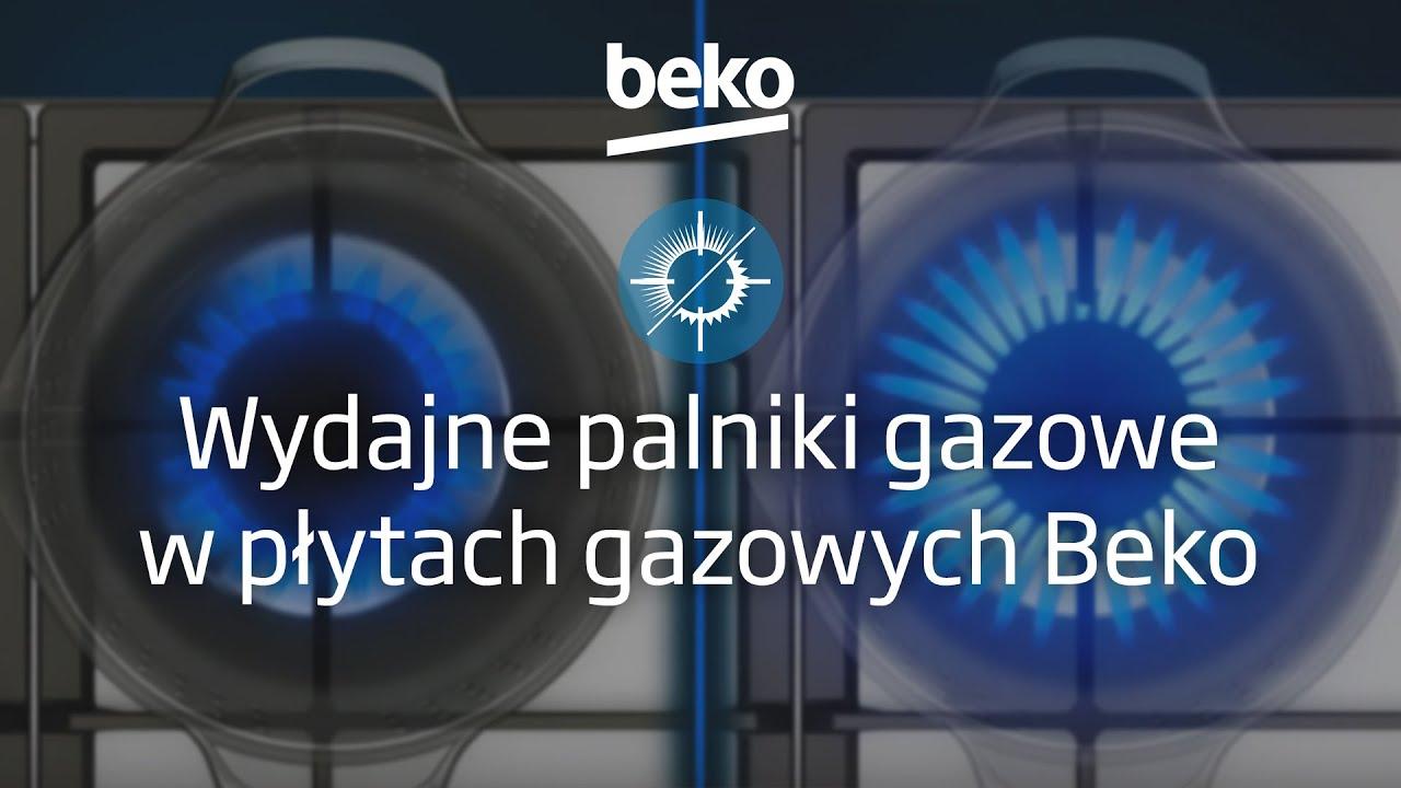 Góra Wydajne palniki gazowe w płytach gazowych Beko - YouTube NR45