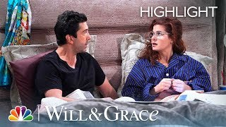 Will and Grace Tell a Lie - Will & Grace (Episode Highlight)