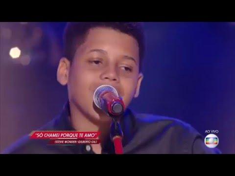 Robert Lucas canta 'Só chamei porque te amo' no The Voice Kids - Semifinal | Temporada 1