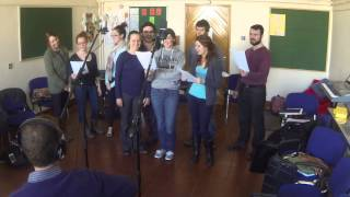 Study Abroad Group sings The Galway Girl