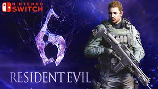 Resident Evil 6 Chris Redfield - New Nintendo Switch Gameplay