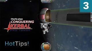 Kerbal Space Program [1.1] - Ep 3 - Spacewalk - Let's Play