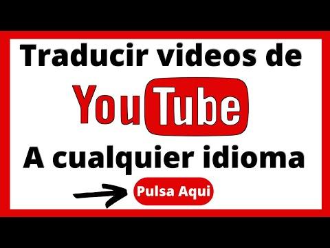 🟢 Traducir un video de ingles a español en YouTube 2020