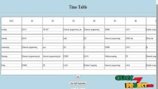 final year projects 2015   time table management