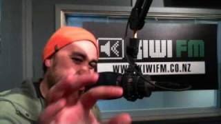 Riki Gooch from Eru Dangerspiel 6-10-10 Radio Wammo Show, Kiwi FM