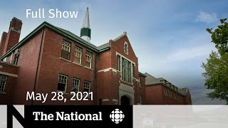Residential school remains, Black fungus, Michelle Williams   The National for May 28, 2021