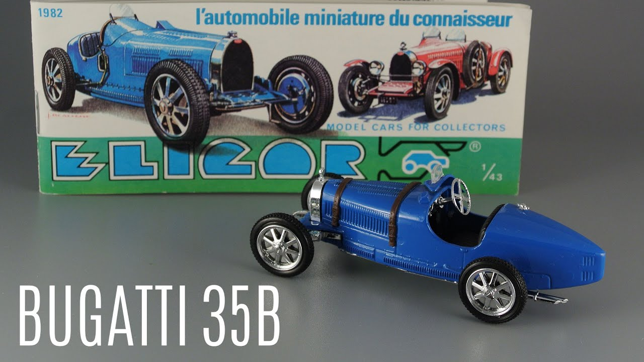 Bugatti 35B 1927 / Eligor / Масштабные модели автомобилей 1:43