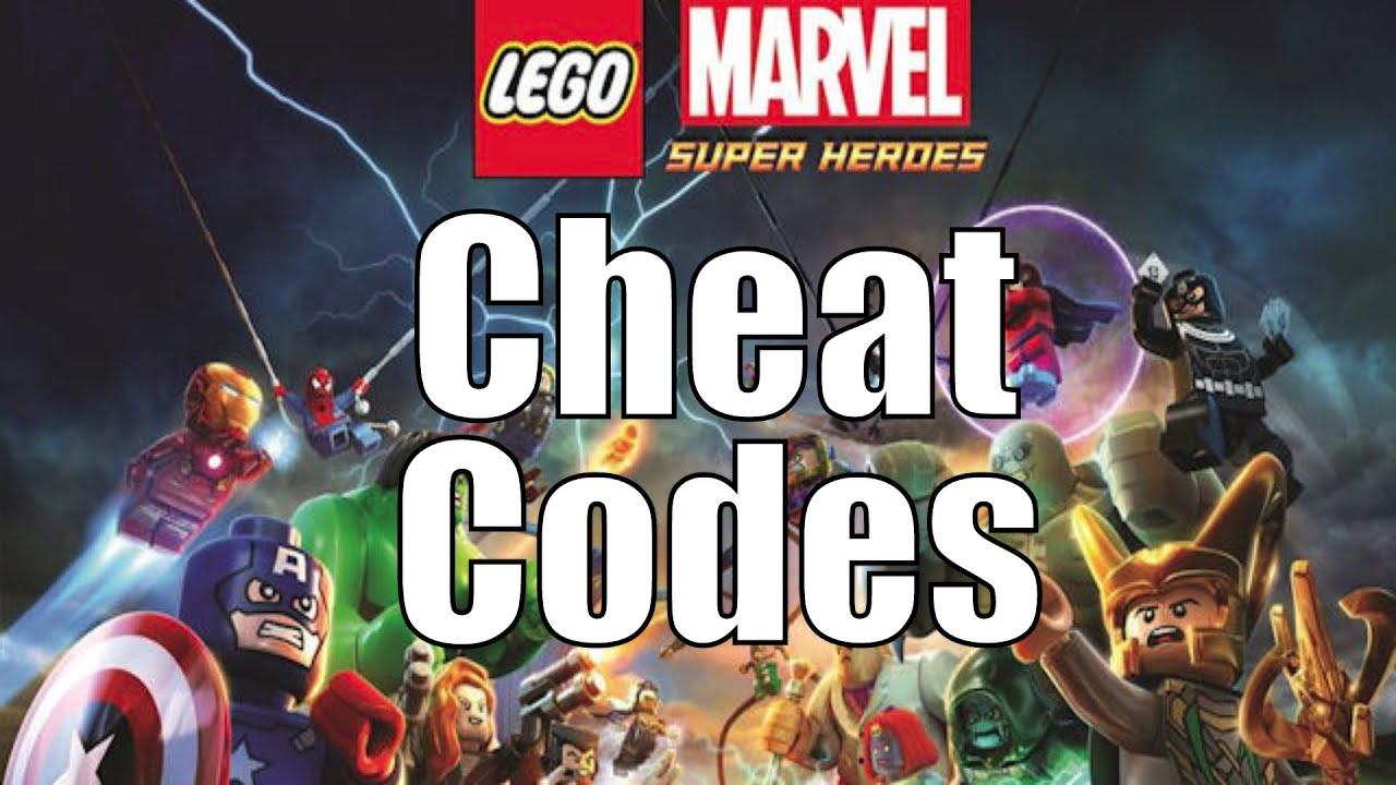LEGO Marvel Super Heroes Cheat Codes - YouTube