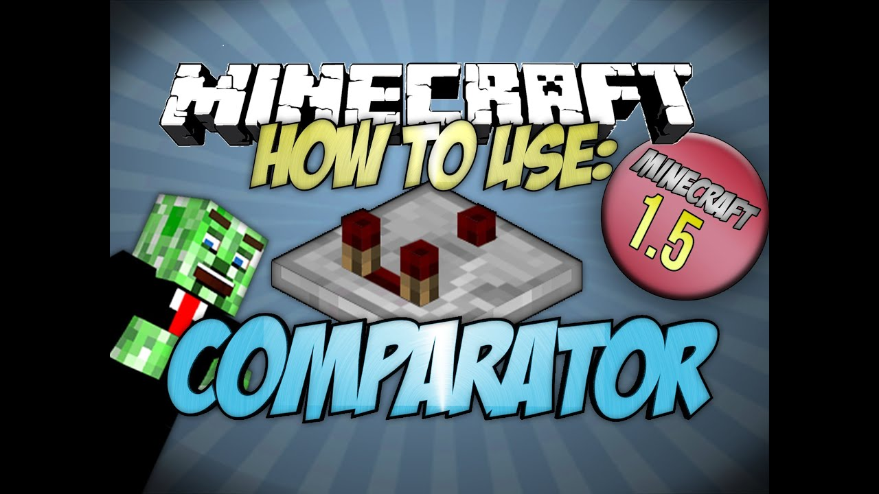 Minecraft redstone comparator uses how to use the comparator minecraft