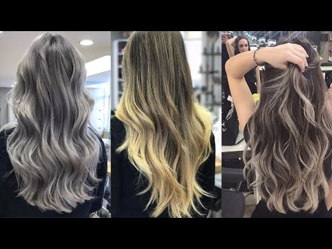 Ombre Hair Color Ideas for Blond, Brown, Red and Black Hair | Video Compilation 2017