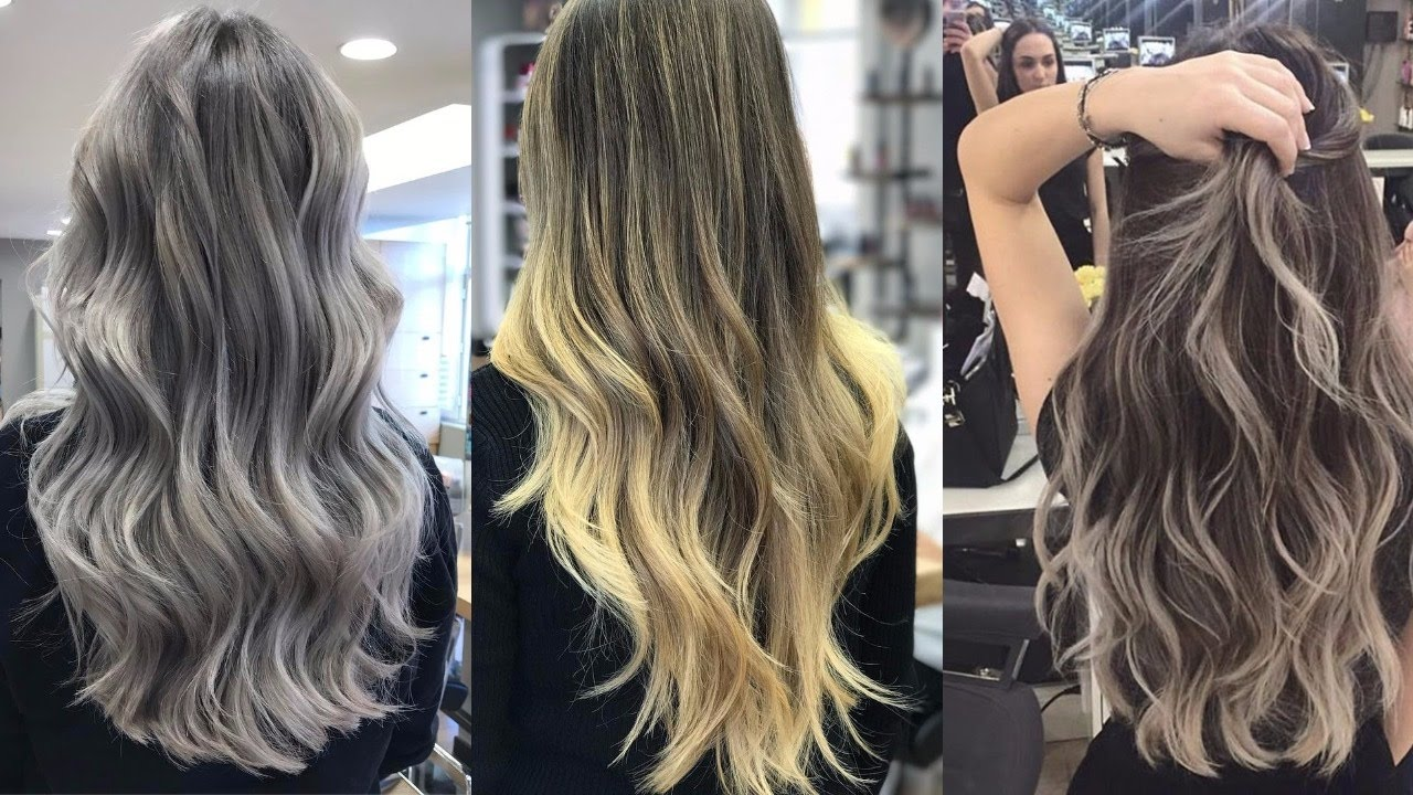 Ombre Hair Color Ideas For Blond Brown Red And Black Hair Video