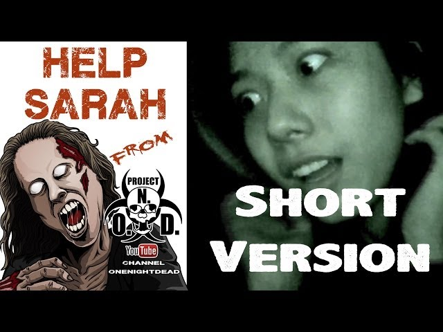 Help your scared girlfriend Sarah in the CYOA Zombie story One Night Dead