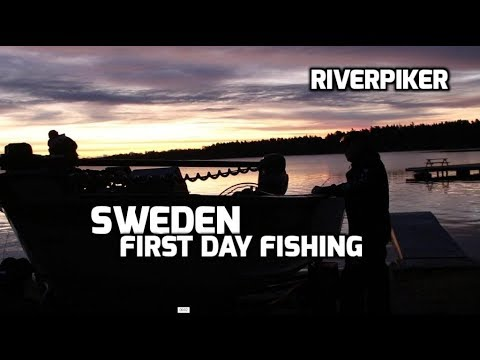 Sweden, first day of fishing - (video 195)