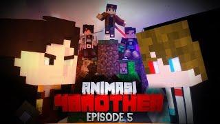 Pertarungan Antara ANICRAFT VS RANGGA (Anto Vs Husky)   Animasi 4brother Episode 5