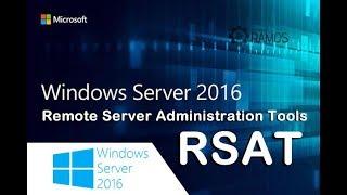 🔴 Curso Grátis Administrando Windows Server 2016 | RSAT - Remote Server Administration Tools