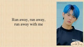 TXT (투모로우바이투게더) - Run Away (9와 4분의 3 승강장에서 너를 기다려) Easy Lyrics