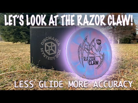 """Let's Look At The New Discmania Evolution """"Razor Claw"""" Tactic!"""
