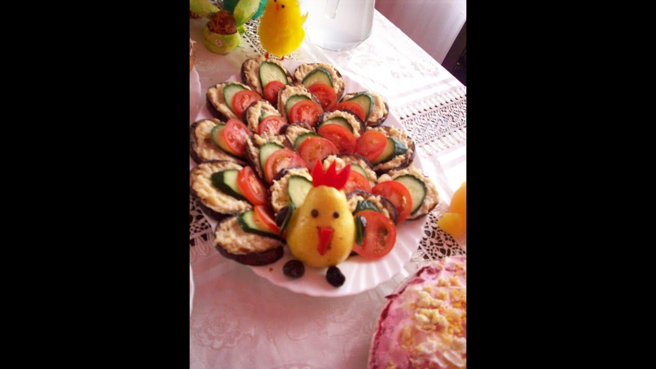 Рецепт салата на багете