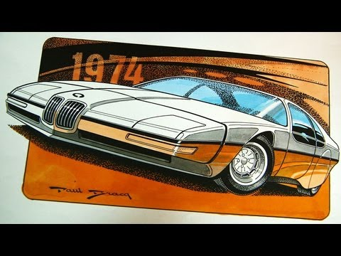 BMW Designer Paul Bracq.