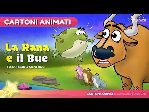la-rana-e-il-bue-(nuevo)-the-frog-and-the-ox-cartone-animati-|-storie-per-bambini