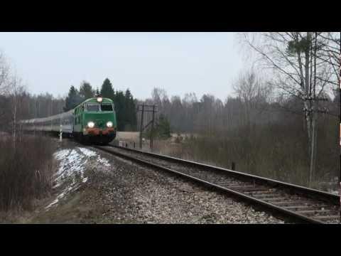 SU45-118, Polish train in Lithuania